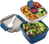 Freshmage Salad Lunch Container To Go (Blue), 52-oz $6.99