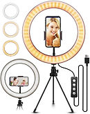"10.2"" Selfie Ring Light with Tripod Stand $13.79 (40% Off)"