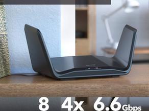 NETGEAR  Nighthawk Tri-Band 8-Stream AX6200 WiFi 6 Router $229.99 << $399.99