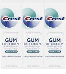 Crest Gum Detoxify Deep Clean Toothpaste 3-pack $9.24 (53% Off)