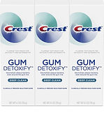 Crest Gum Detoxify Deep Clean Toothpaste 3-pack $11.24 (53% Off)