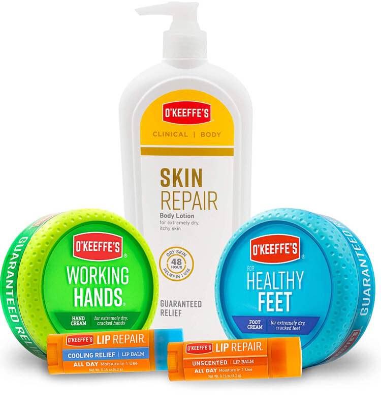 O'Keeffe's Skin Care Products   Kongdeals 콩딜은 핫딜, hot deals, 할인쿠폰,아마존 할인코드, 아마존 쿠폰 코드, coupons, promo code, coupon code, freesbees, 무료 선물등  특별히 선별된 미국 쇼핑 채널 및 브랜드 정보를 매일 공유합니다.