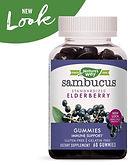 Nature's Way Sambucus Elderberry Gummies 60-Ct $8.92 << $12.74