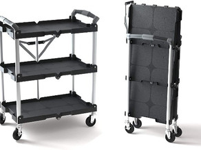 Pack-N-Roll Folding Collapsible Cart $80.99