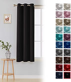 Room Darkening Blackout Window Curtain Panel $7.50 (50% Off)
