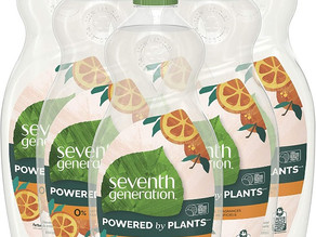 Seventh Generation Dish Soap Liquid 19 oz X 6-Pk $12.47