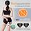 Cyclean Period Underwear, Organic Cotton Bamboo Fabrics Period Undies Reusable 4-Layer Panties