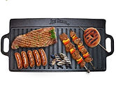 Jim Beam Double Sided Cast iron Griddle $19.99 (56% Off)