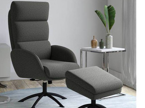 Sophitza Rocker Chair & Storage Ottoman $149.99 (65% Off)