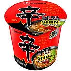 Nongshim Shin Cup Noodle Soup 6-Pk $5.01 [Best Price]