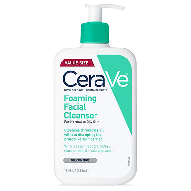 CeraVe Foaming Facial Cleanser For Oily Skin 16 oz , Buy 2 Get 1 Free