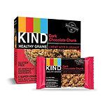 KIND Healthy Grains Bars, Dark Chocolate, 30-Ct $11.86 [Best Price]