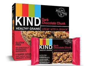 KIND Healthy Grains Bars, Dark Chocolate, 30-Ct $11.86 [Best Price]
