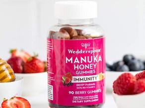 Wedderspoon Manuka Honey Immunity Gummies 90-ct $7.86 (45% Off)