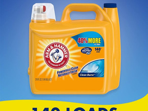 Arm & Hammer Liquid Laundry Detergent 140-Load $8.74