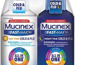 Mucinex Fast-Max Cold & Flu Liquid Medicine (Day & Night) $13.41 (38% Off)