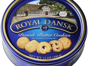 Royal Dansk Danish Cookie Selection 12 oz  $3.38