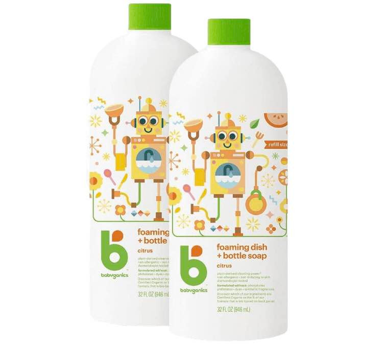 Babyganics Foaming Dish & bottle soap Kongdeals 콩딜은 핫딜, hot deals, 할인쿠폰,아마존 할인코드,  아마존 쿠폰 코드, coupons, coupon code, promo code, freesbees,  무료 선물등  특별히 선별된 미국 쇼핑채널 및  브랜드 정보를  매일 공유합니다.