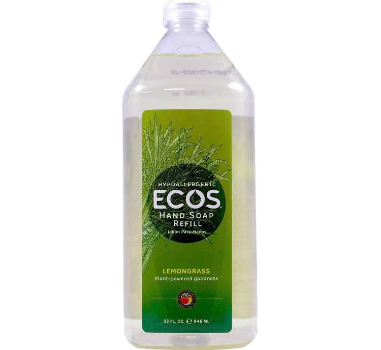 Amazon Best Price - ECOS Hand Soap Refill, Lemongrass
