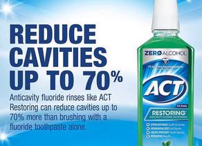 ACT Anticavity Fluoride Mint Burst Mouthwash $2.59 (35% Off)