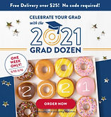 Krispy Kreme 2021 Grad Dozen This Week