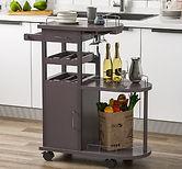 Wooden Beverage Serving Cart $111.99 << $438 (Wayfair)
