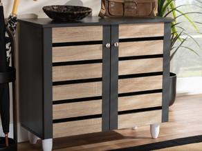 9 Pair Shoe Storage Cabinet $68.92 << $113