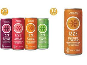 IZZE Sparkling Juice 36-can $16.26 (Bundle Price)