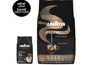 Lavazza Caffe Espresso Medium Roast Whole Bean Coffee 2.2-lb. $9.99 (50% Off)