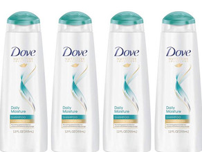 Dove Moisturizing Shampoo for Dry Hair 12 oz X 4-Pk $10.39