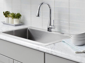 FLOW Touchless Single-Handle Kitchen Faucet up to 52% Off