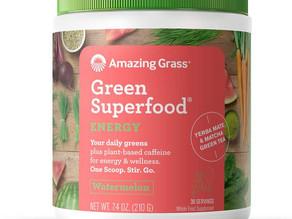 [종료] Amazing Grass 그린 수퍼푸드 (수박맛) 30일분 $10.75불 (<<$17.92불) / 아마존 할인 쿠폰