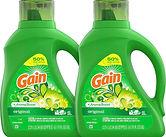 Gain Laundry Detergent Liquid 75 oz X 4-pack $20.20 ($5.50/EA)