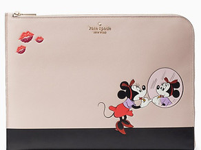 "disney x kate spade new york minnie 15"" laptop sleeve $59 << $119"