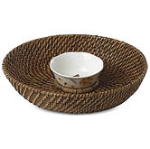 Lenox Butterfly Meadow Rattan Chip & Dip With Bowl $28.99 (50% Off)