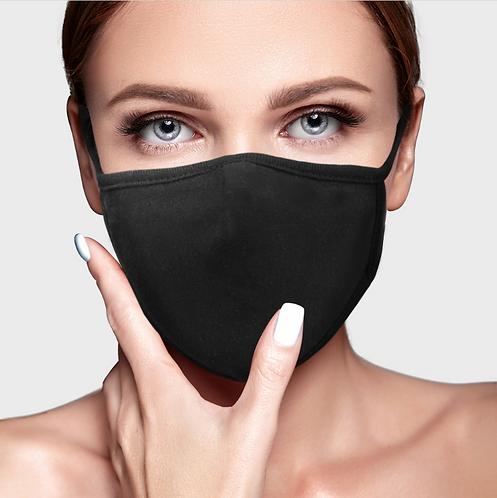 Cyclean Organic Cotton and Bamboo Fabrics Reusable 3D Face Mask