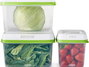 Rubbermaid FreshWorks Produce Saver 6-Pcs Set $18.39  [Best Price]