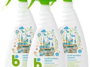 Babyganics Multi Surface Cleaner 32 oz X 3-Pk $12.10