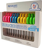 "Westcott School Left and Right Handed Kids Scissors, 5"" Blunt, 12-pack $5.48 << $15"