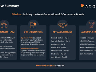Check out the pitch deck these Amazon insiders used to raise $160 million for their new e-commerce s