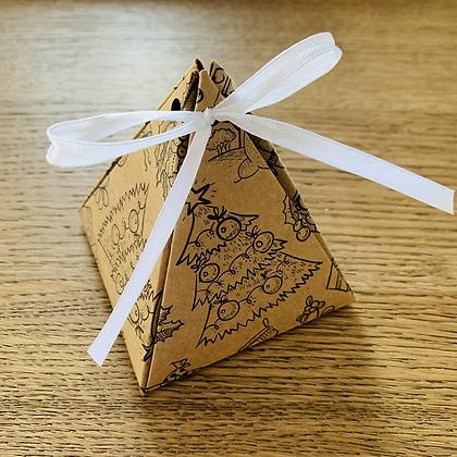 Pyramid Gift Box - Cinnamon Apple