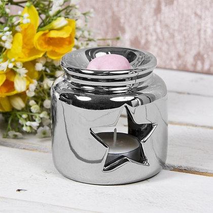 Silver Star Jar Burner