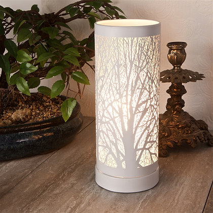 White Trees - Slim Touch Sensitive Aroma Lamp