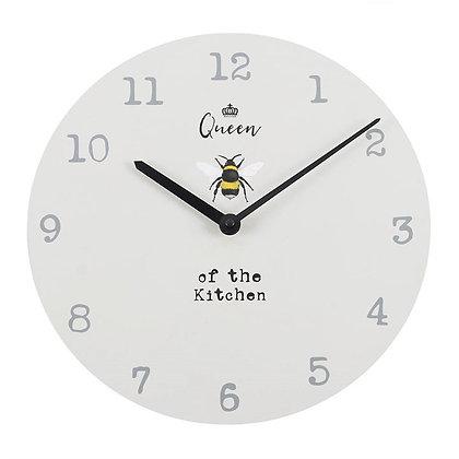 Queen of The Kitchen Clock