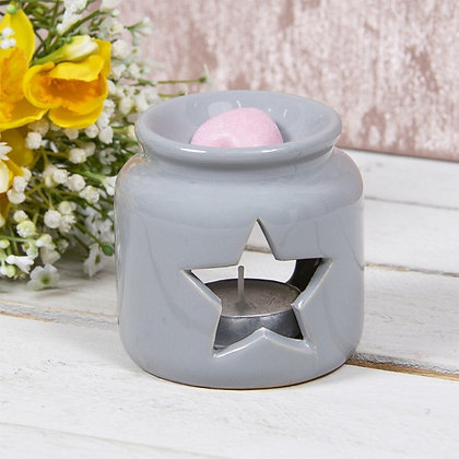 Grey Star Jar Burner