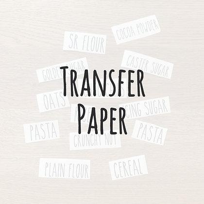 Transfer Paper for Vinyl