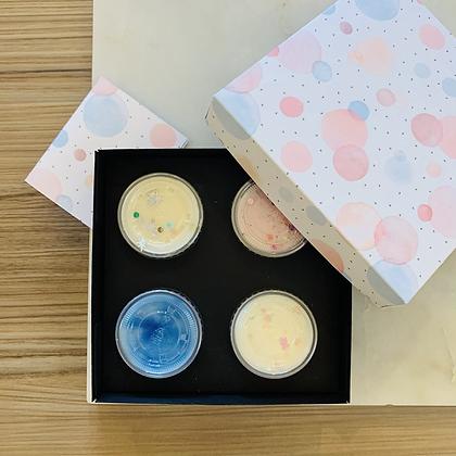 Watercolour Dots Shot Pot Gift Box