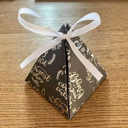 Pyramid Gift Box - Lime Basil & Mandarin