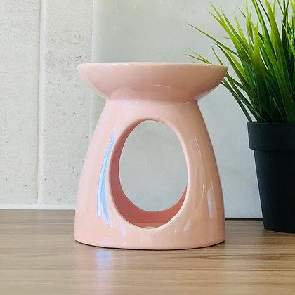 Pink Pearlescent Tealight Burner