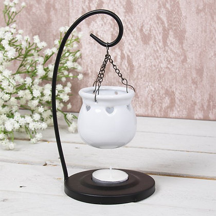 White Hanging Burner
